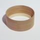 bodhran accordabile  fusto grezzo in mogano 14x6 +cerchio di rinforzo (altezza 4 cm., spessore 0,5 cm) + tuning rim (altezza 2 cm, spessore 1 cm)