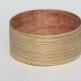 Snare-zebrano-betulla-bubinga-14x6